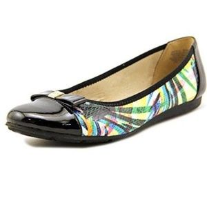 Anne Klein Sport Akatalya Multi Snake Flats Shoes